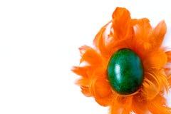 gjord easter äggbild Arkivbild