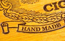 gjord hand - royaltyfri bild