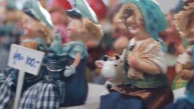 Gjord krukmakerimorförälderhand - arkivfilmer