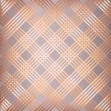 Gjord randig modellbakgrund för abstrakt begrepp rosa guld Royaltyfri Bild