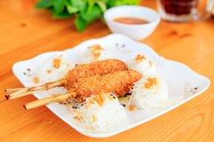 Gjord till kung oiy vietnamesisk mat för vits Royaltyfria Foton