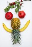 gjorda framsidafrukter arkivbilder
