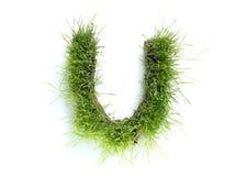 gjorda gräsbokstäver Royaltyfria Foton