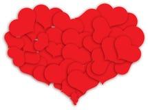gjorda hjärtahjärtor Royaltyfria Bilder