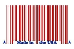 gjorda USA Arkivbild