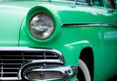 gjorde den klassiska amerikanen för 50-tal bilen Royaltyfri Fotografi