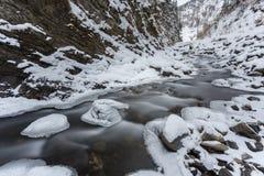 5 2012 gjorde floden russia för marschbergfotoet att time vinter Royaltyfri Foto
