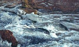 5 2012 gjorde floden russia för marschbergfotoet att time vinter Arkivfoto