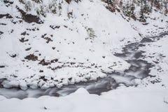 5 2012 gjorde floden russia för marschbergfotoet att time vinter Royaltyfri Bild