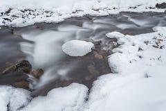 5 2012 gjorde floden russia för marschbergfotoet att time vinter Arkivbilder