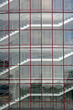 gjort byggnadsexponeringsglas Arkivbild