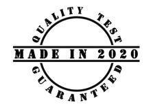 Gjort i 2020 Arkivbild
