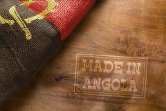 Gjort i Angola Royaltyfria Foton