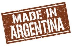 Gjort i den Argentina stämpeln stock illustrationer