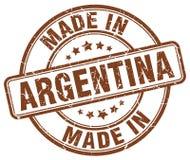 Gjort i den Argentina stämpeln vektor illustrationer