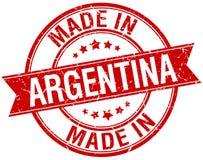 Gjort i den Argentina stämpeln royaltyfri illustrationer