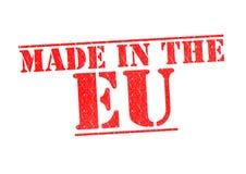 GJORT I den Rubber stämpeln för EU royaltyfri bild