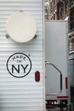 Gjort i NY Arkivbild