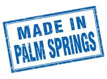 gjort i Palm Springsstämpel royaltyfri illustrationer