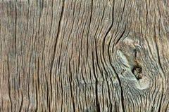 Gjort randig gammalt trä Fotografering för Bildbyråer