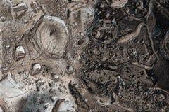 Gjort sammandrag - vattensmå droppar Arkivbild