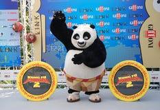 Gjuta den del Filma Kung Fu Panda 2 alGiffoni filmfestivalen 2011 Royaltyfri Bild