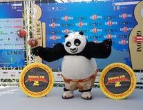 Gjuta den del Filma Kung Fu Panda 2 alGiffoni filmfestivalen 2011 Royaltyfria Bilder