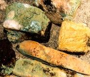 Gjuta på gammalt bröd arkivfoton