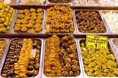 gläder turkiska sötsaker Arkivbild