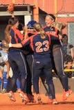 Glädje i softball Royaltyfri Fotografi