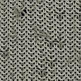 Glänsande chainmail Arkivfoto