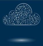 Glänsande molnbegrepp Fotografering för Bildbyråer