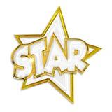 Glänsande stjärna Royaltyfri Bild
