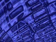 Glänsande violett bakgrund för abstrakt färgrik fractal Arkivfoton