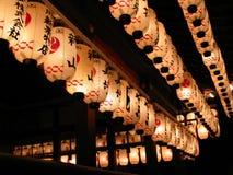 Glänzen durch die Nacht Stockbilder