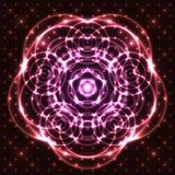 Glänzende abstrakte Mandala vektor abbildung
