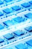 Glänzende Computerteile Lizenzfreies Stockfoto