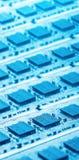 Glänzende Computerteile Stockfotos
