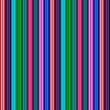 Glänzende Fahnen des Regenbogenstreifens - Illustration Lizenzfreies Stockfoto