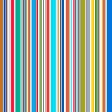 Glänzende Fahnen des Regenbogenstreifens - Illustration Stockbild