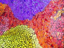 Glänzende farbige Mosaikfliesen lizenzfreies stockfoto