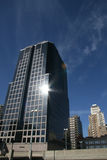 Glänzende Gebäude Kansas City Stockbild
