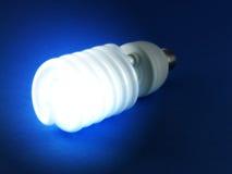 Glänzende Glühlampe Stockfoto