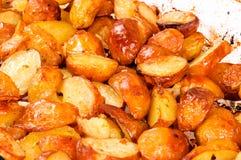 Glänzende Kartoffel Lizenzfreie Stockbilder