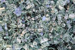 Glänzende Kristalle des Hintergrundes Stockfotografie