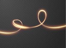 Glänzende Linien Vektorhintergrund EPS10 Stockfotos