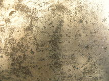 Glänzende Metallbeschaffenheit rostig Stockbild