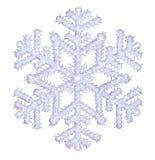 Glänzende Schneeflocke Lizenzfreies Stockfoto