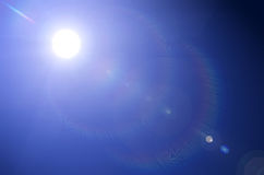 Glänzende Sonne Lizenzfreie Stockfotografie