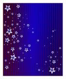 glänzende Sterne Stockbild